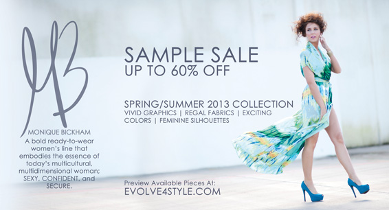 Monique Bickham Sample Sale Ad